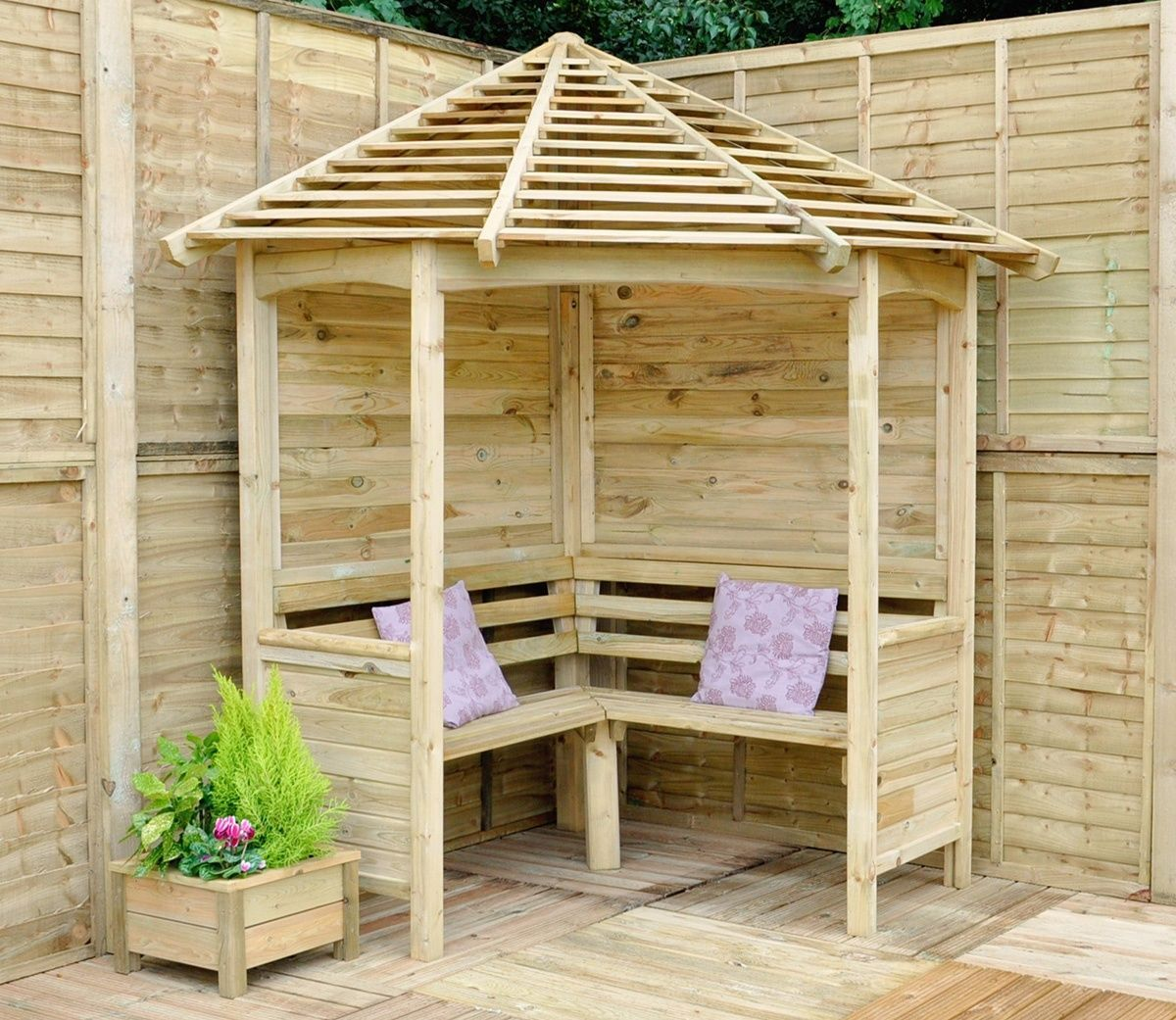 7 Affordable Landscaping Ideas For Under 1 000: 45 Garden Arbor Bench Design Ideas & DIY Kits You Can