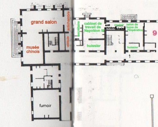 Fontainebleau cabinets de travail des laques et fumoir for Garde meuble fontainebleau