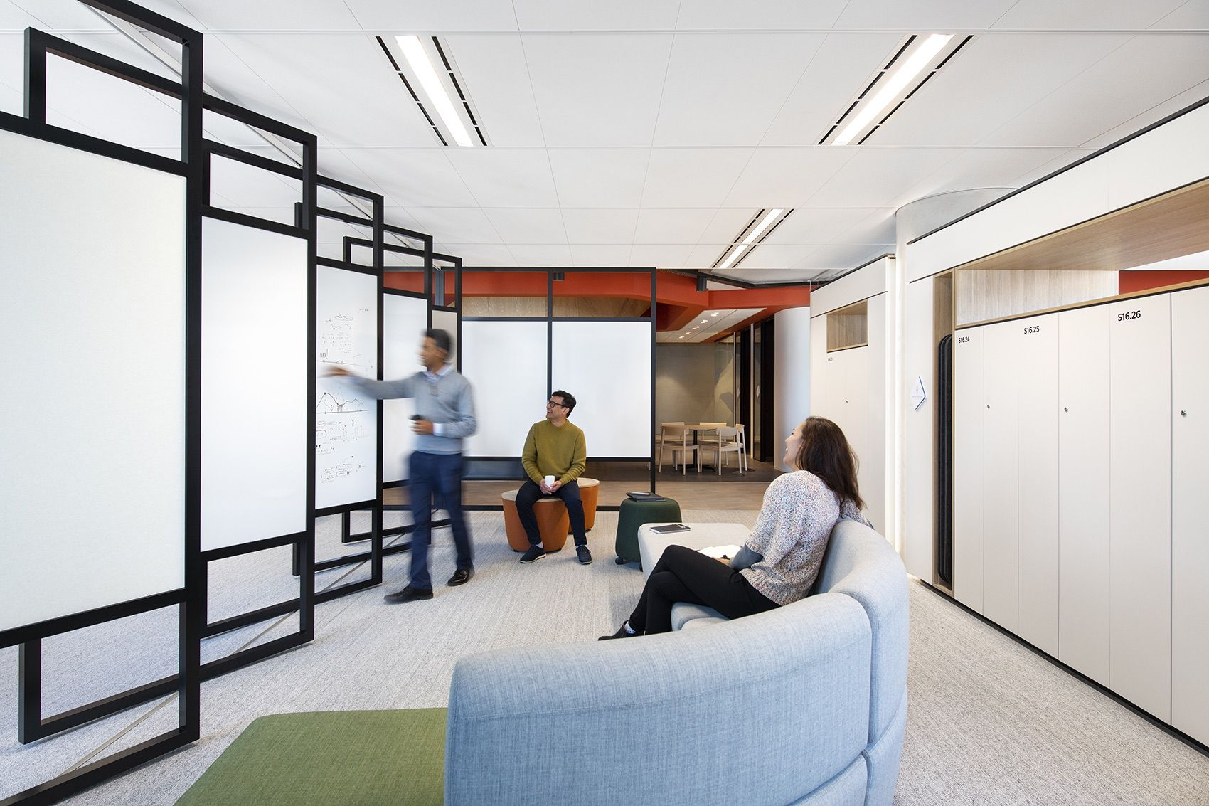 A Tour Of Qbe Insurance S New Melbourne Office Modular Lounges