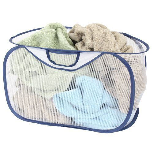 Laundry Bags At Walmart Interesting Mainstays Popopen Laundry Basket Set Of 2  Laundry  Pinterest
