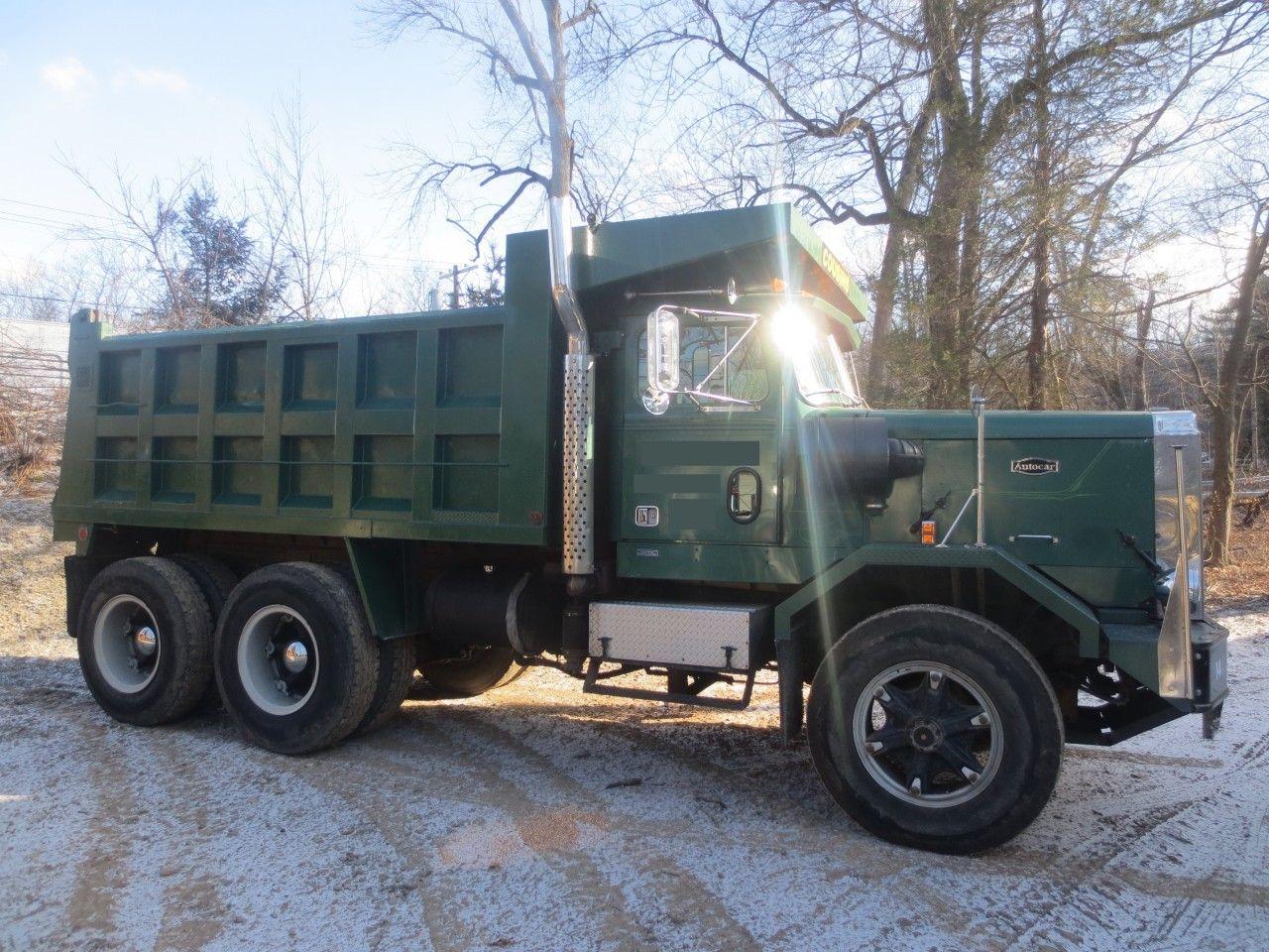 Autocar dump truck for sale autocar commercial trucks 1987 autocar