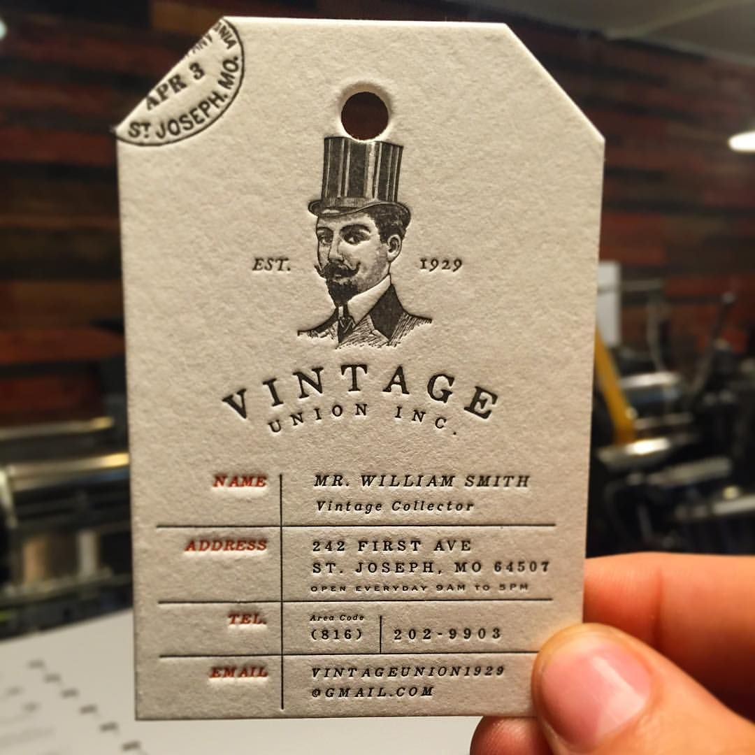 Classy Luggage tag business cards produced on 40pt cotton with extra ...
