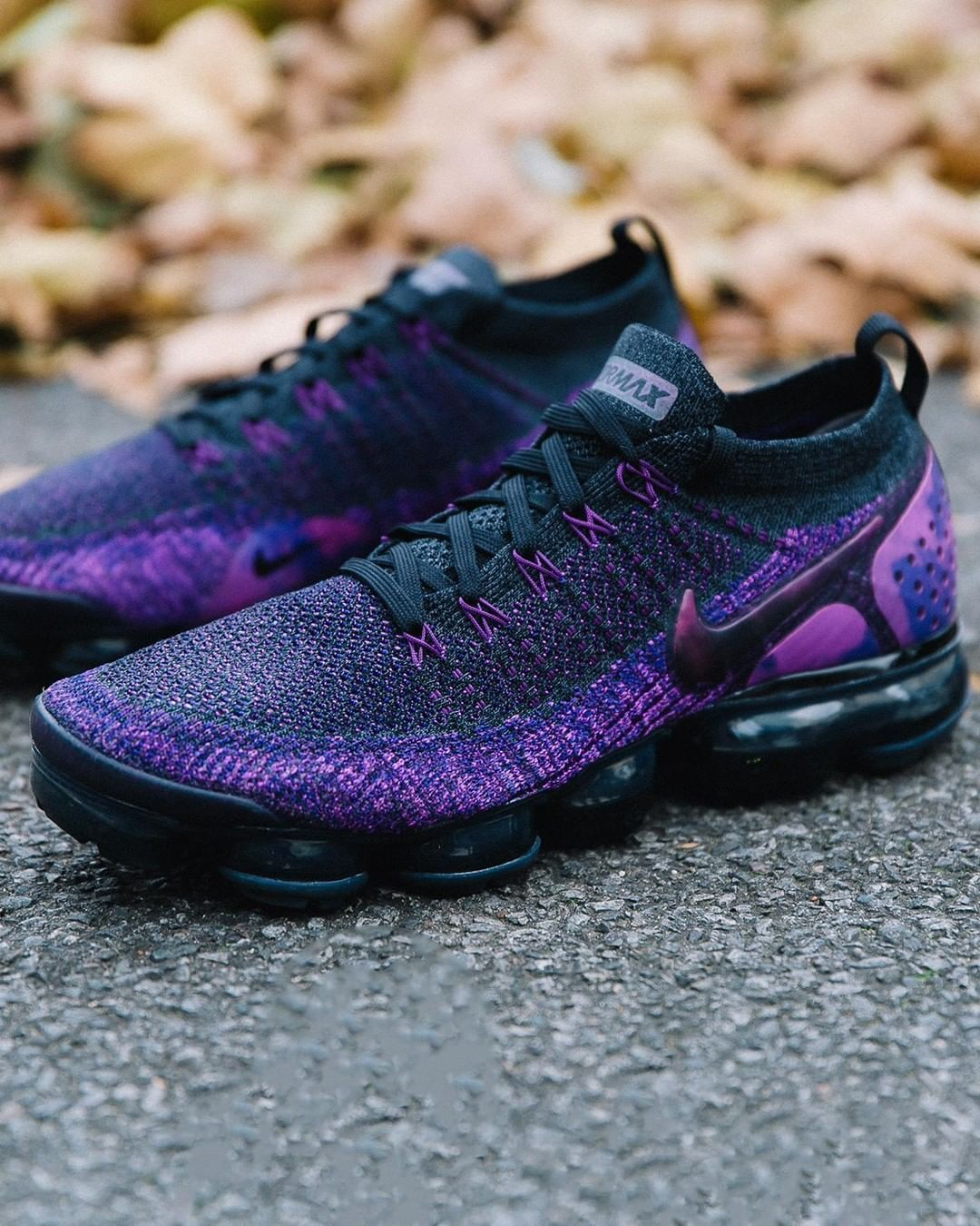 27bbe33860 Nike Air Vapormax Flyknit 2 'Night Purple' | Sneakers in 2019 | Nike ...
