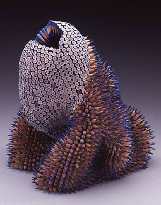 Pencil Sculptures Art (1)