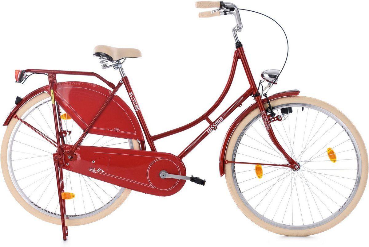 Hollandrad Tussaud 1 Gang Hollandrad Fahrrad Damen Stahlrahmen