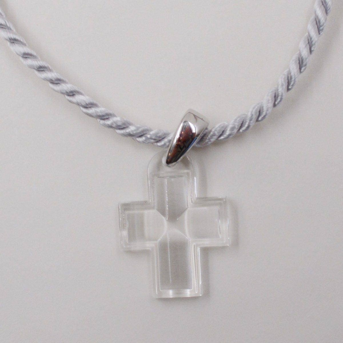 Lalique Clear Crystal Cross Pendant With Sterling Bail S K Ltd Crystal Cross Cross Pendant Clear Crystal