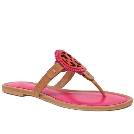 fa00434703c8 Tory Burch Dusty Cypress Miller Fringe Leather Flip Flops Sandals Size US  8.5 Regular (M
