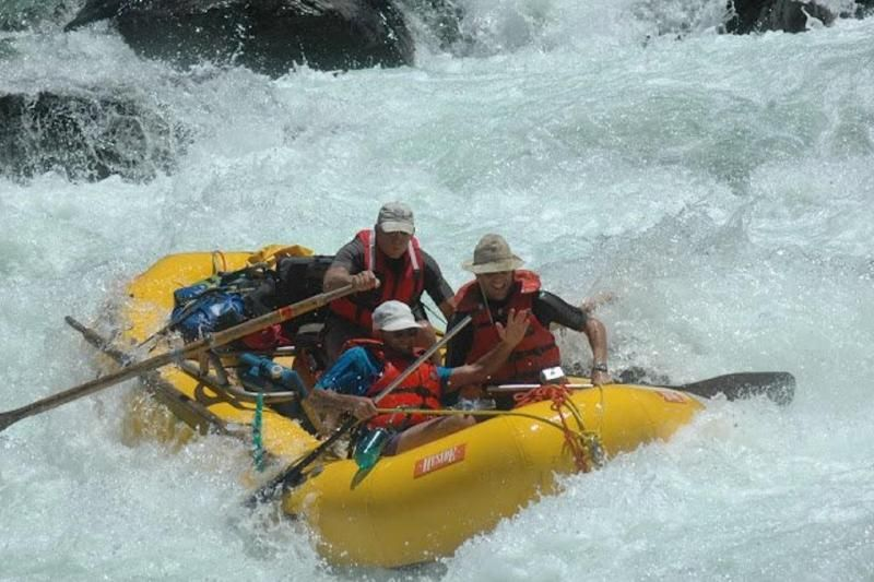 Russian River White Water Rafting