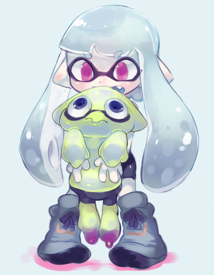 Splatoon Via Pixiv Splatoon Games Anime Game Art