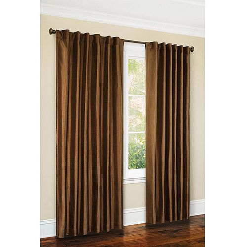 Canopy FauxSilk Curtains Stay Within Your Budget with Faux Silk