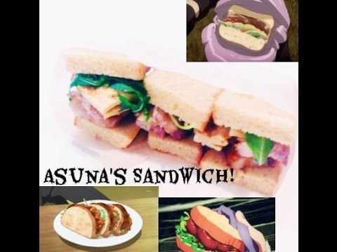 My fangirl exploded i need to make this sao pinterest sword asunas sandwich a sword art online recipe forumfinder