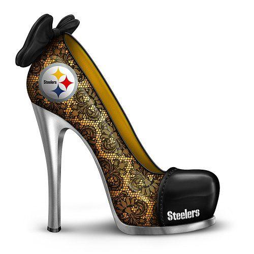 34c6e4df653c1 Steelers Shoes for Women   Steelers Footwear, Pittsburgh Steelers ...