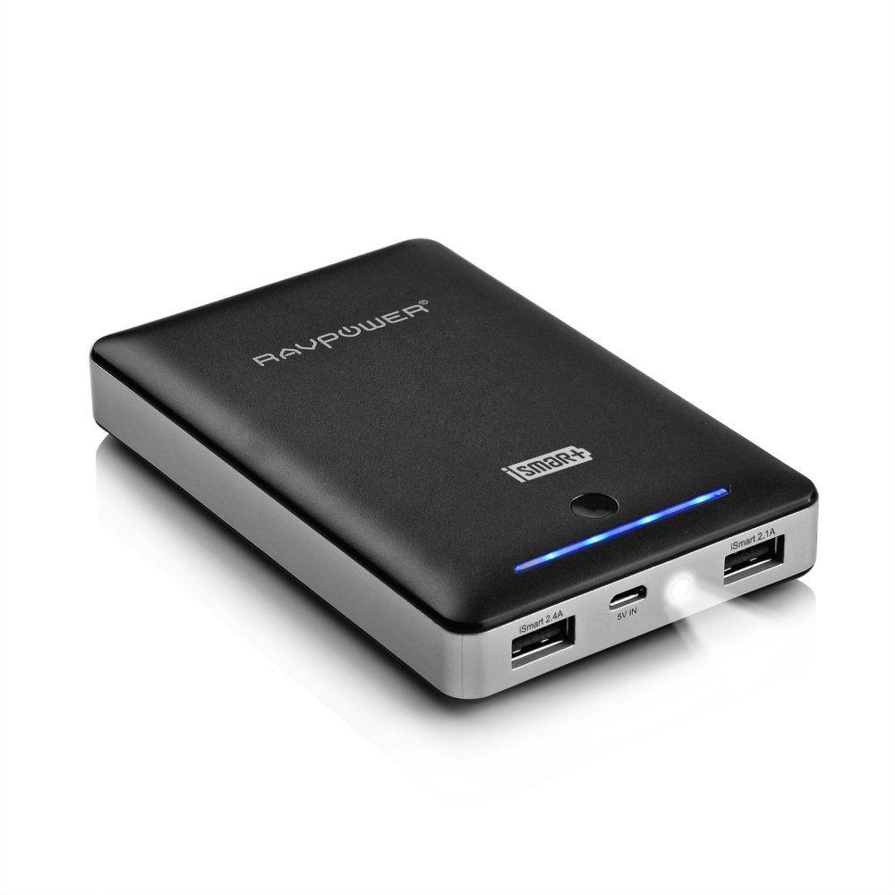 RAVPower 16750mAh 4.5A Dual USB Output Portable Charger External Battery Power