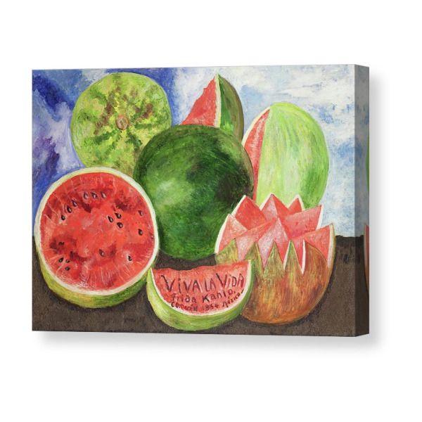 Viva la vida Canvas Print / Canvas Art by Frida Ka