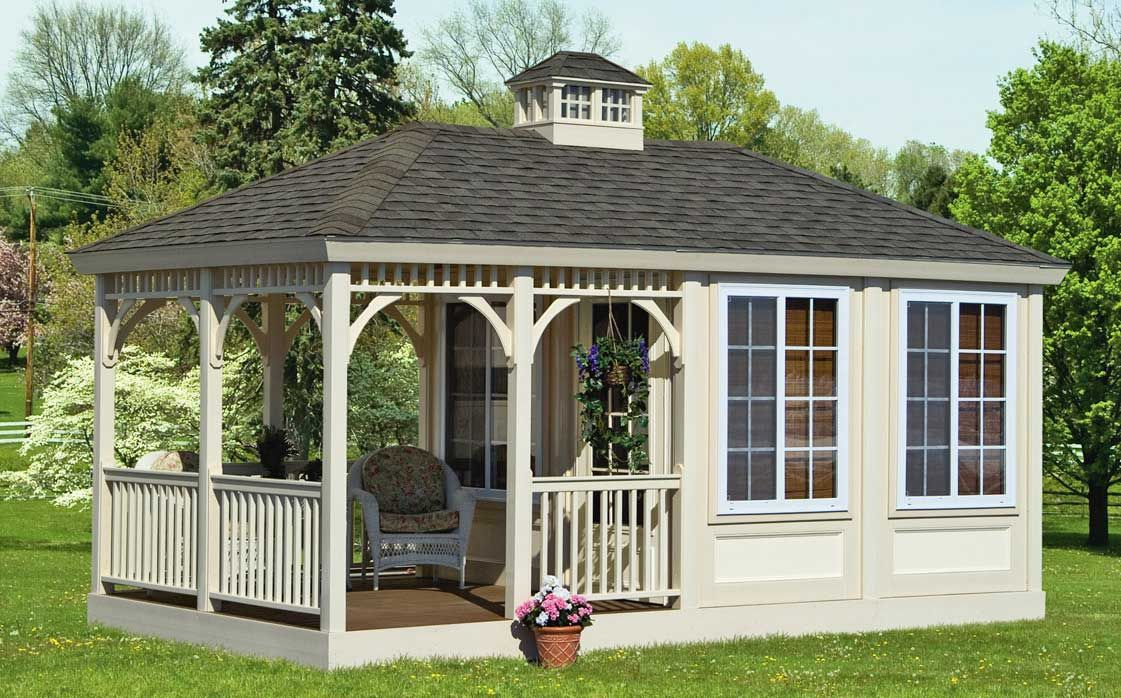 Amish Built All Season Outdoor Gazebos In Maryland New Jersey And Pool Houses Wooden Gazebo Gazebo