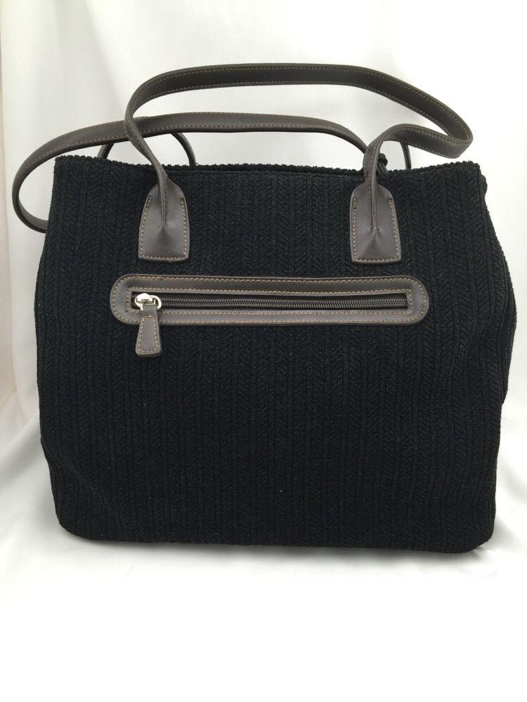 Stone Mountain Purse Handbag Shoulder Bag Black Brown Multiple Compartments Ebay