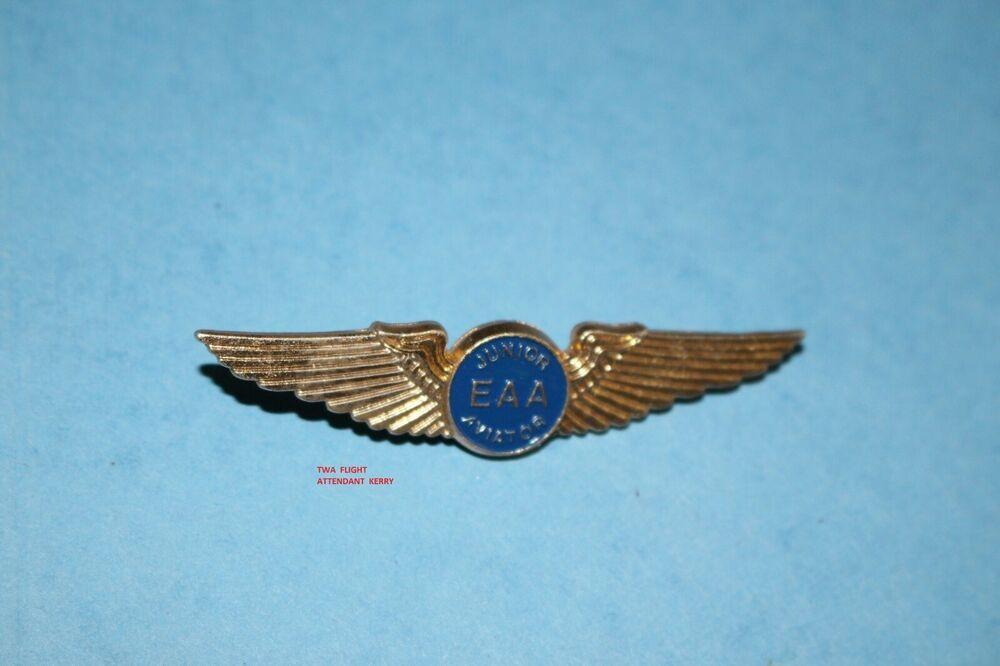 Kiddie Wings Junior Wings Vintage Junior Pilot Wings International Airlines