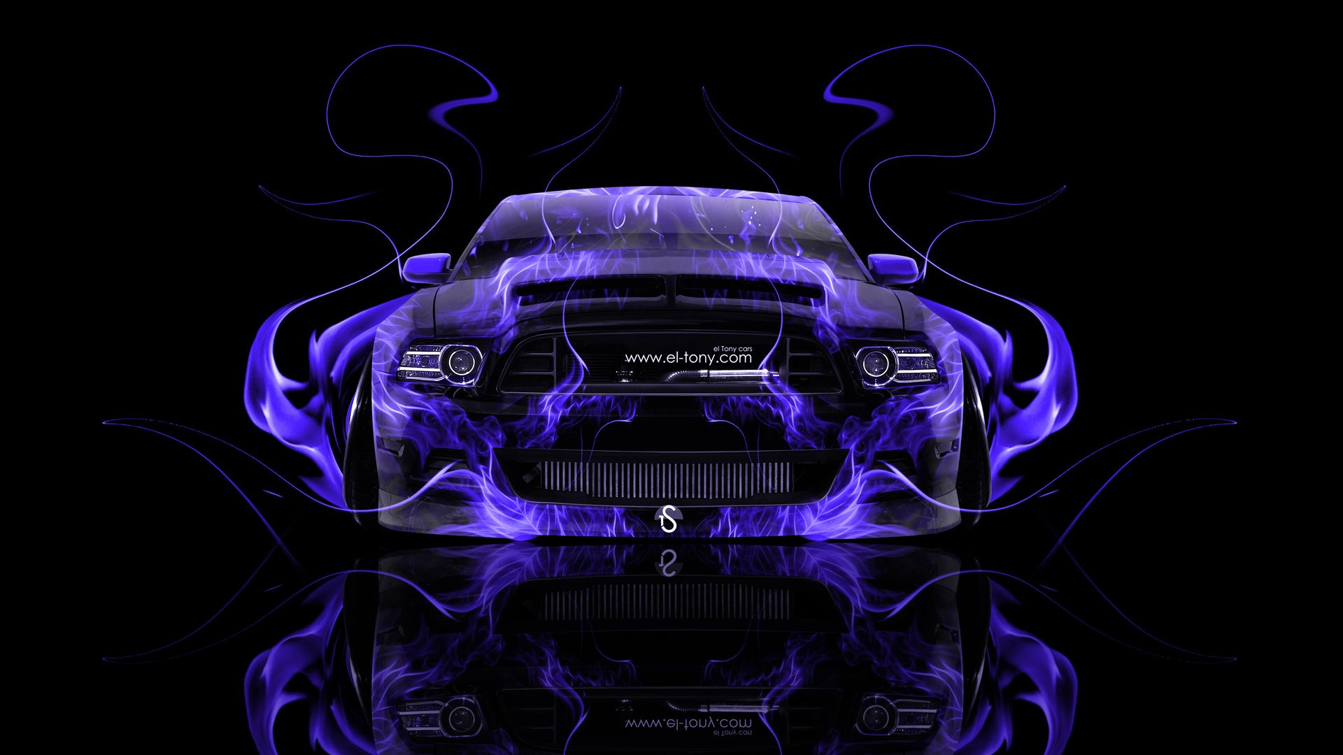 American Muscle Cars With Flames | Wallpaper Tony Kokhan, Ford, Mustang,  Gt, Front, Fire, Car, Tuning ... | DAP Of Just FLAMES (1) | Pinterest |  Ford ...