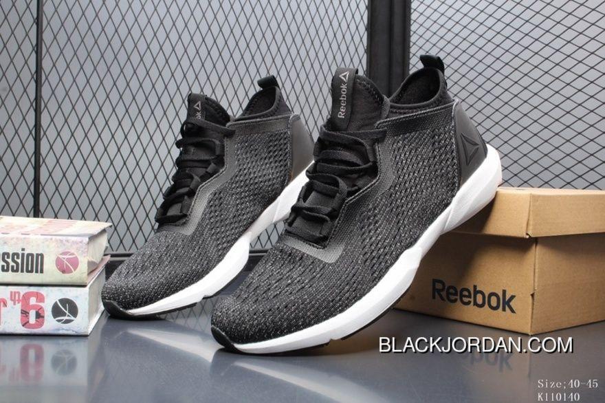 e06c1e69aa Reebok Royal Astrostorm K110040 Mens Classic Running Shoes Black White  Copuon