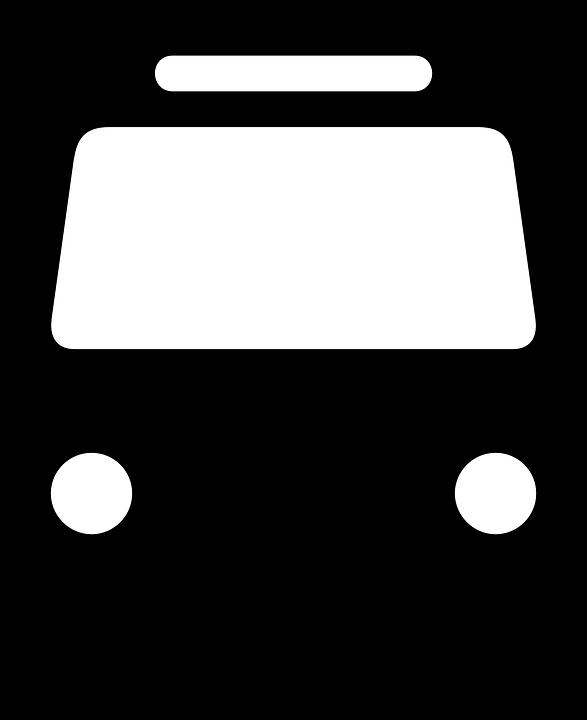 Resultado de imagem para frente onibus pictograma