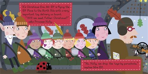 ben hollys little kingdom christmas at the north pole ben and holly book - Ben And Holly Christmas