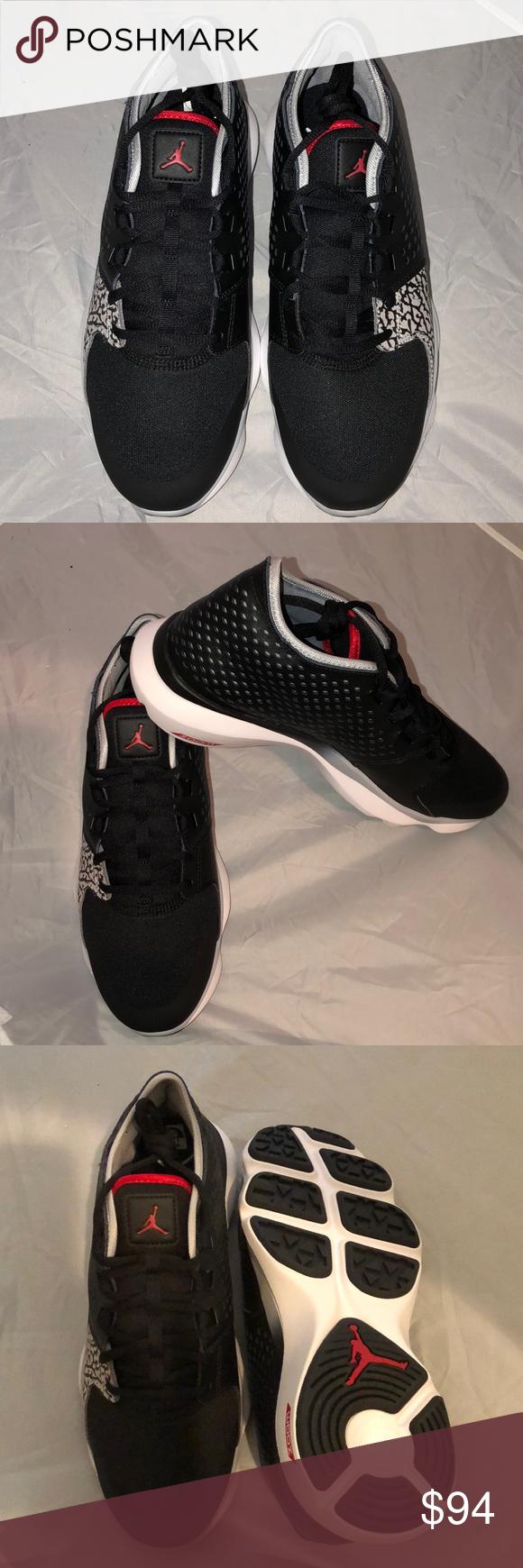 lowest price c192c 3bb9d NWT Men s Jordan Flow NWT Men s Jordan Flow. Black, gym red and wolf grey.  Size 10.5. ( 167) Jordan Shoes Sneakers