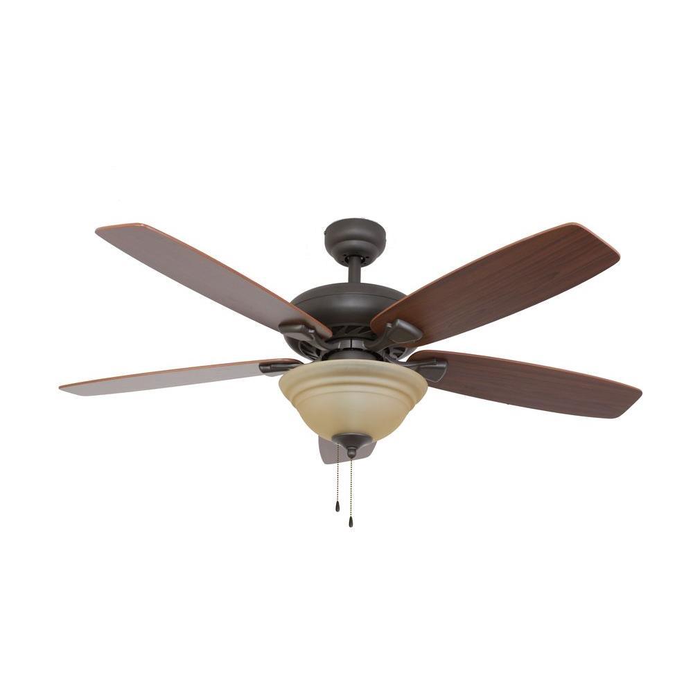 Sahara Fans Ardmore 52 in. Bronze Ceiling Fan