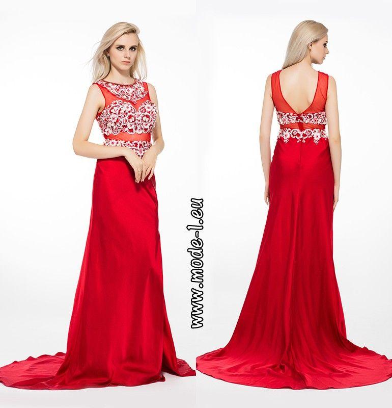 6300830e3260de Dancing Queen Abendkleid in Rot Online für Damen im Online Mode Shop  auf  Rechnung Kaufen