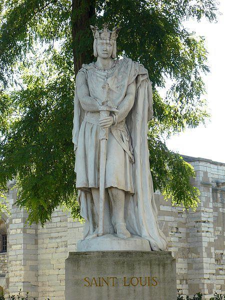 VINCENNES Statue en marbre de Saint-Louis (Louis IX), sculpture de A.Mony  (1906). Déplacée de l'église de Saint-Louis-en… | Statue, Chateau de  vincennes, St louis