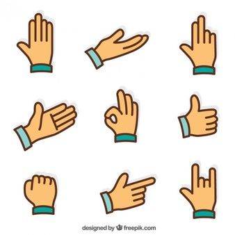 Image Result For Graphic Hand Vector Language Icon Sign Language Icon