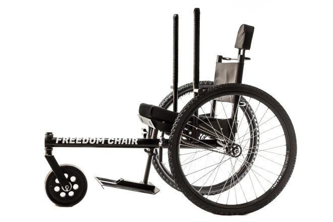 Prevent Shoulder Injury With A Grit Lever Propelled Wheelchair