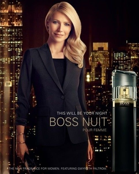 boss nuit pour femme by hugo boss ad features gweyneth. Black Bedroom Furniture Sets. Home Design Ideas