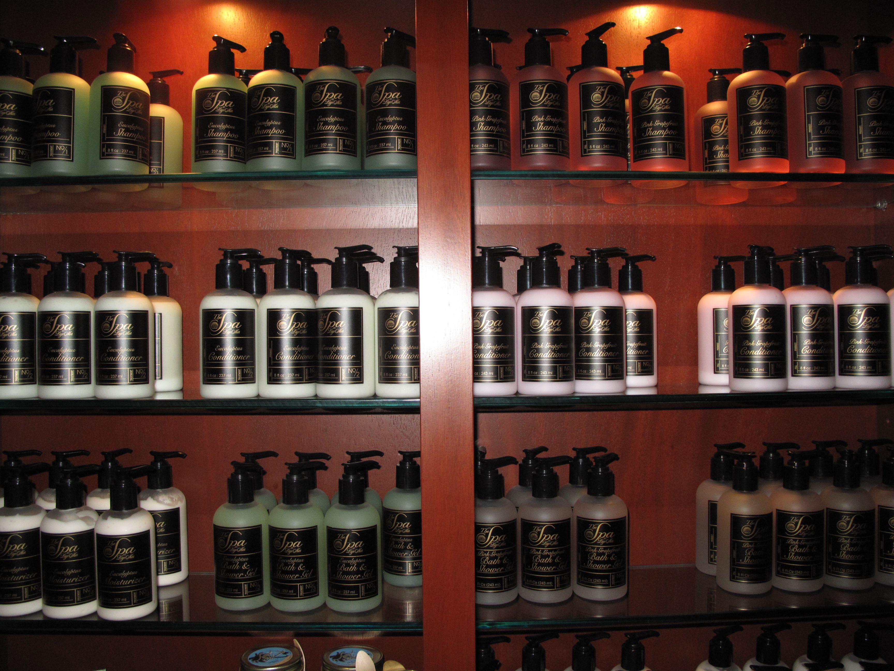 Lotions and potions at The Spa at #LagoMar #SpaLagoMar #FloridaSpa http://www.lagomar.com/experience/spa.php