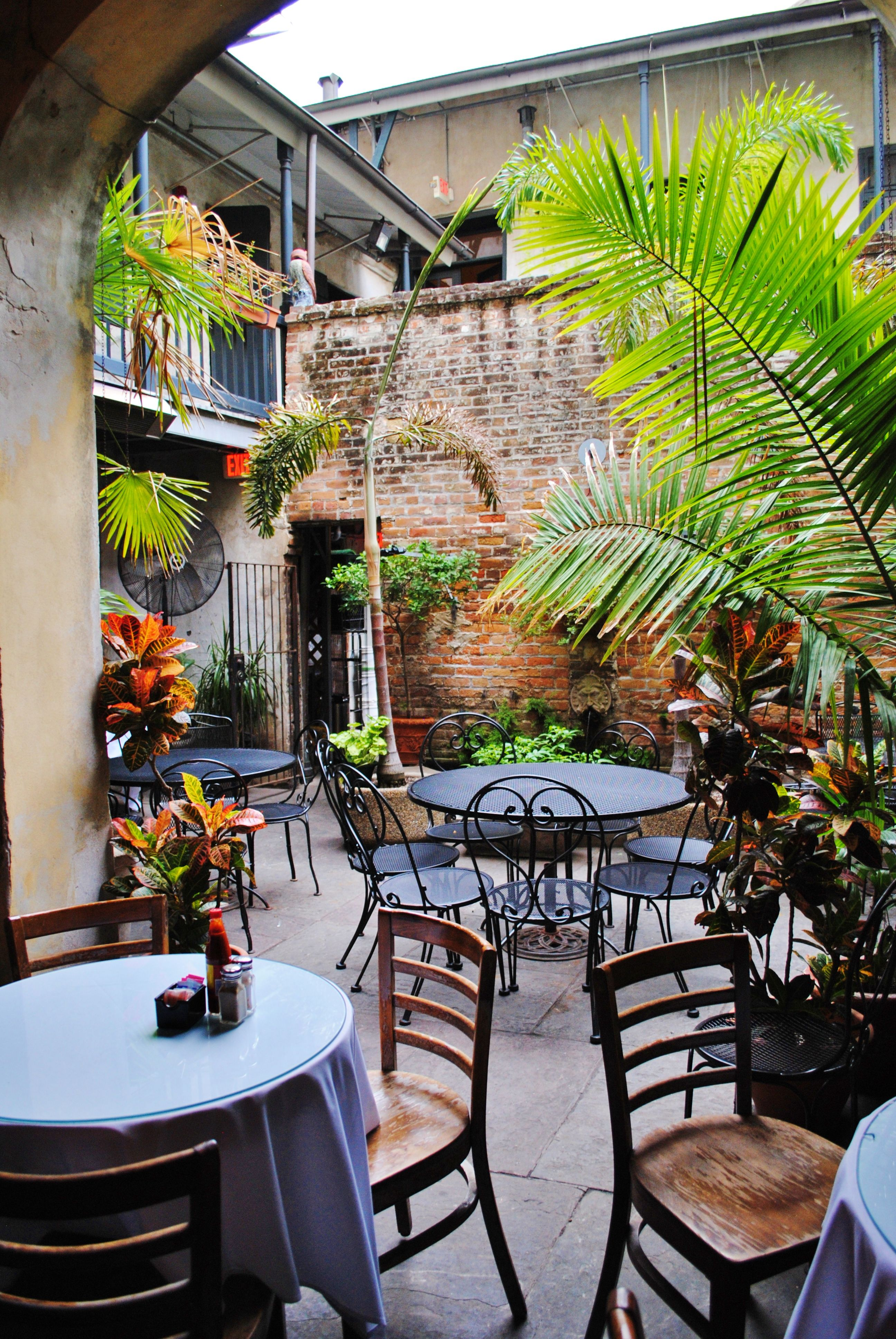 E Experience Napoleon House Courtyard New Orleans