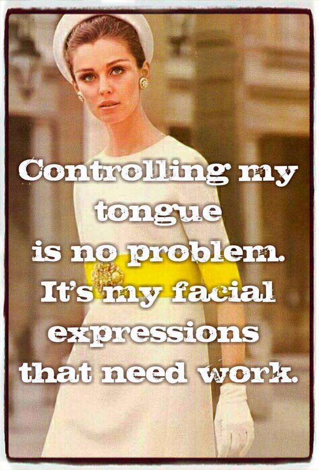 Funny Facial Expressions Meme : Controlling my tongue is no problem it s facial