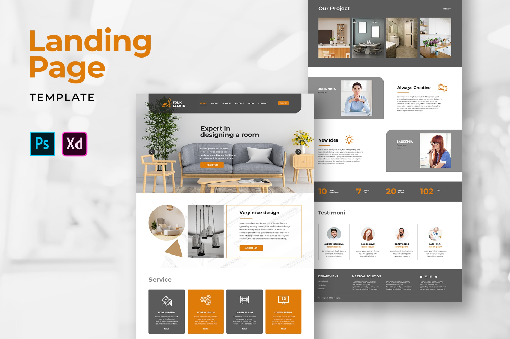 Landing Pages Room Design Services In 2020 Service Design Design Room Design
