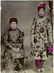 Chine, Beijing Opera Vintage print, China Tirage citrate 9x12 Circa 1890