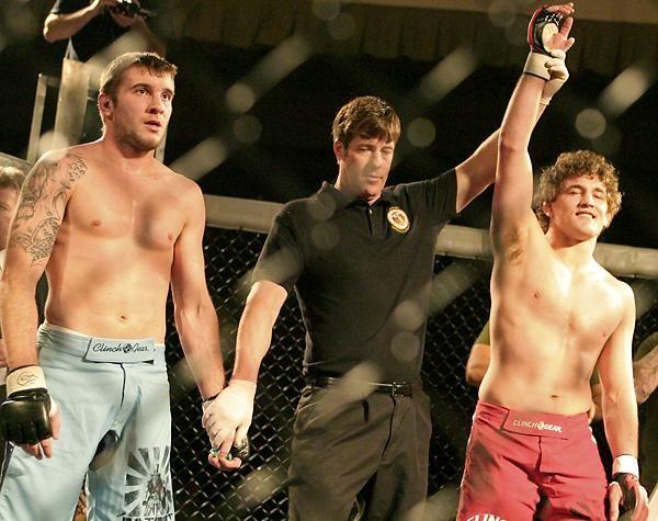 Ben Askren (right), undefeated MMA wrestler | Mma, Ben askren