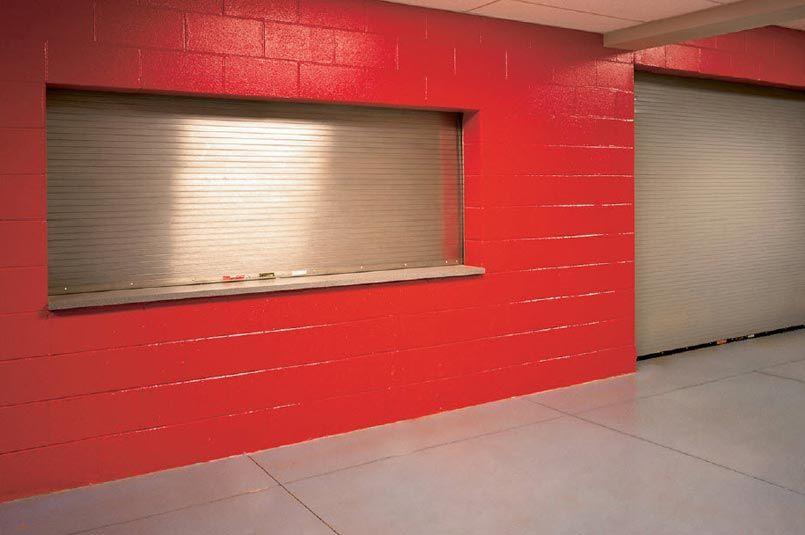 Our Model 641 Fire Rated Counter Door Features 22 Gauge Stainless Steel And Is Ideal For Applications Where Safe In 2020 Overhead Door Rolling Steel Doors Steel Doors