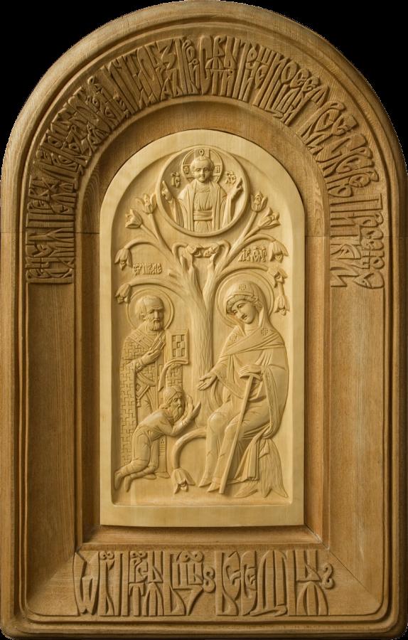Икона Божьей Матери «Беседная» («Явление Пресвятой Богородицы пономарю Юришу»). ИконаСегоДня