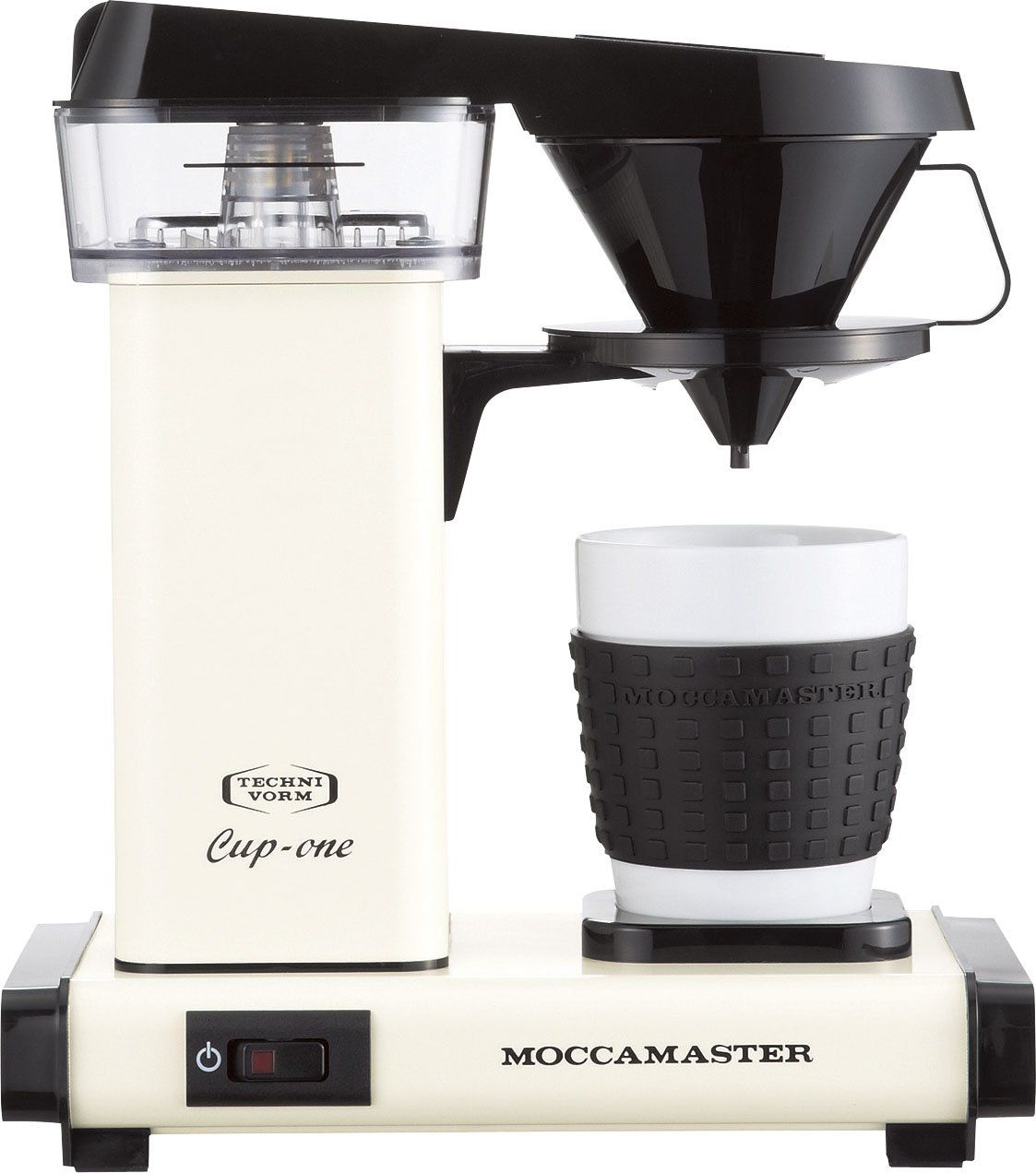 MOCCAMASTER coffee maker cup one KB300CR cream >>> You can