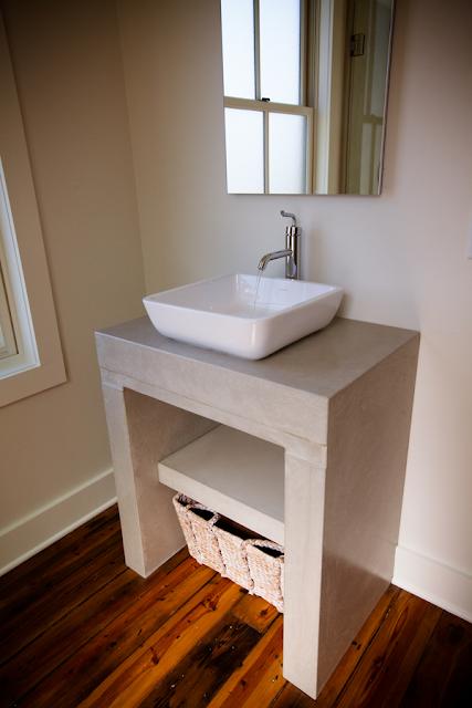 cement bathroom vanity top home ideas