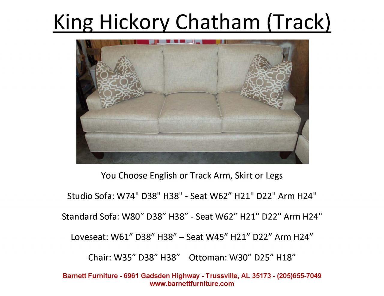 Pleasant King Hickory Chatham Sofa Track Arm Modern Leg You Inzonedesignstudio Interior Chair Design Inzonedesignstudiocom