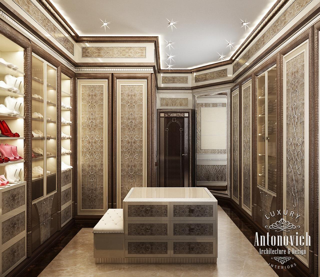 Dressing Room Design in Dubai Contemporary Dressing