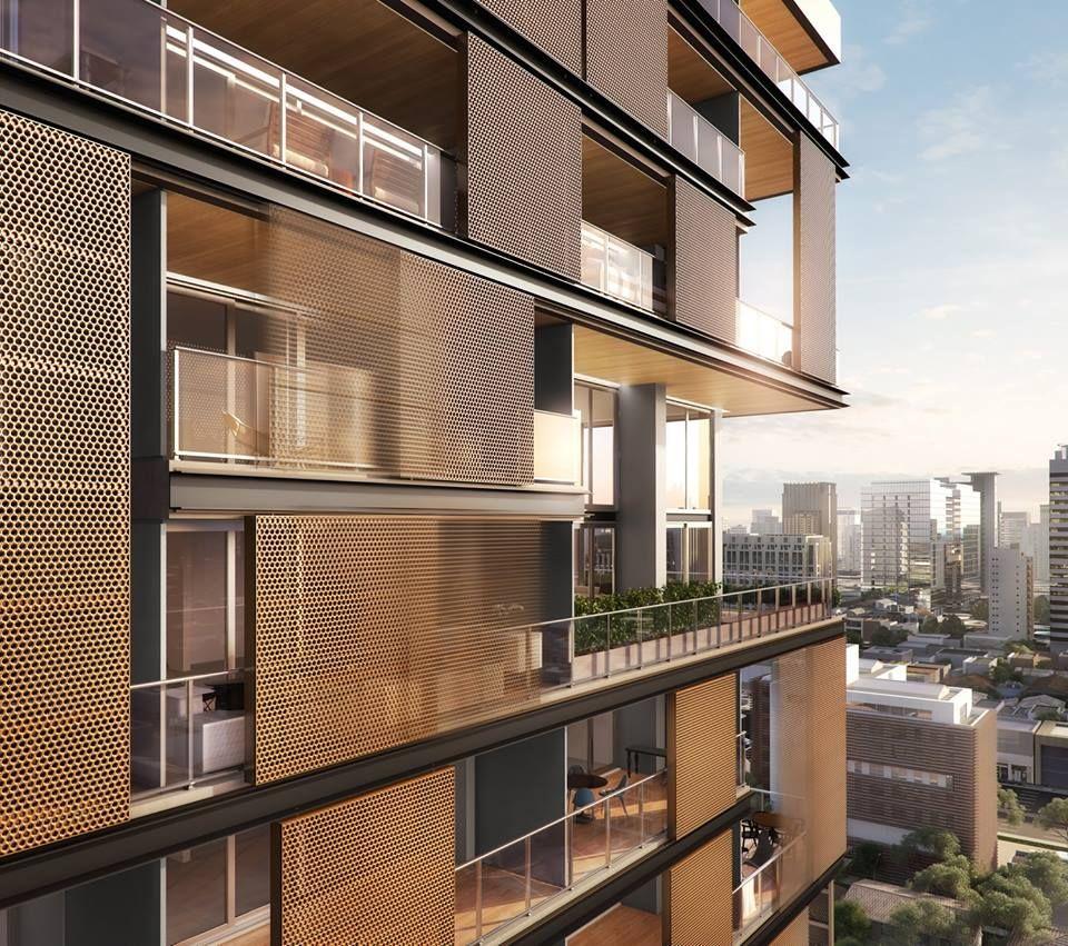 La doble altura hogar dulce hogar pinterest dobles for Fachadas apartamentos modernos
