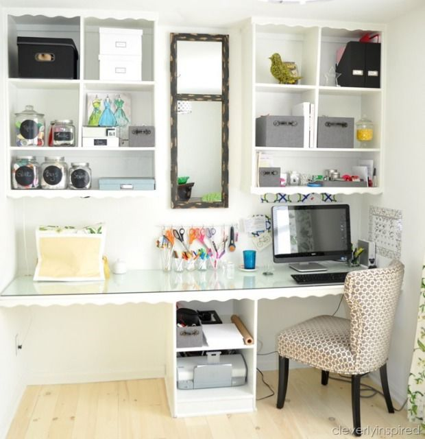 Before and After Home Office - Home Organizing Ideas - Good Housekeeping