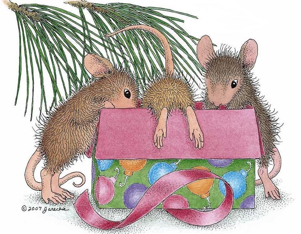 Картинки веселые мышки зимой, картинки