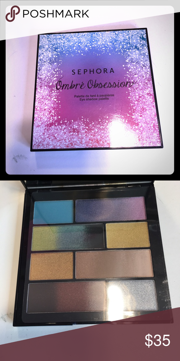 Sephora ombré obsession palette So cute! Ombré eyeshadow