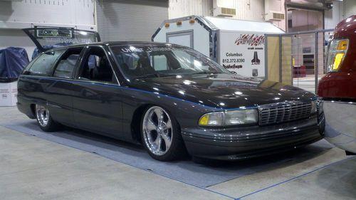 1992 Chevrolet Caprice Wagon Accuair Viair Boyd Wheels Custom