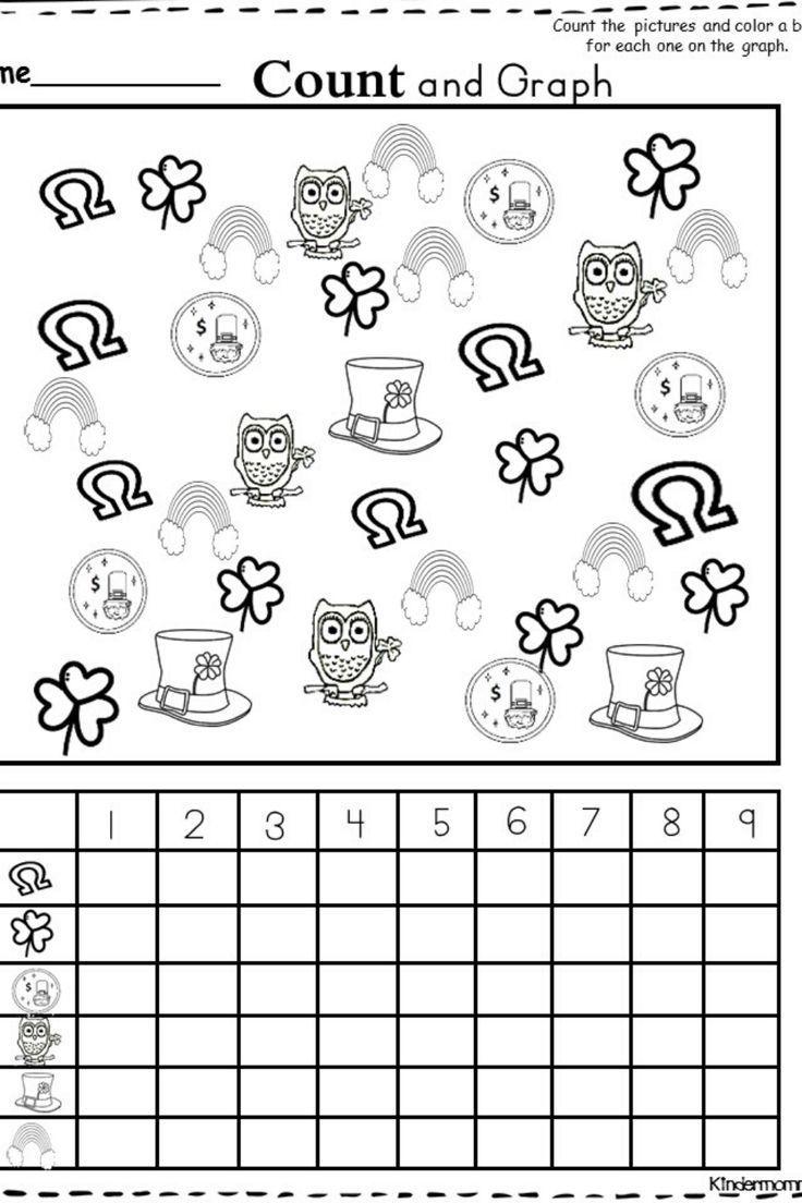 Free Kindergarten Graphing Worksheet - kindermomma.com in ...